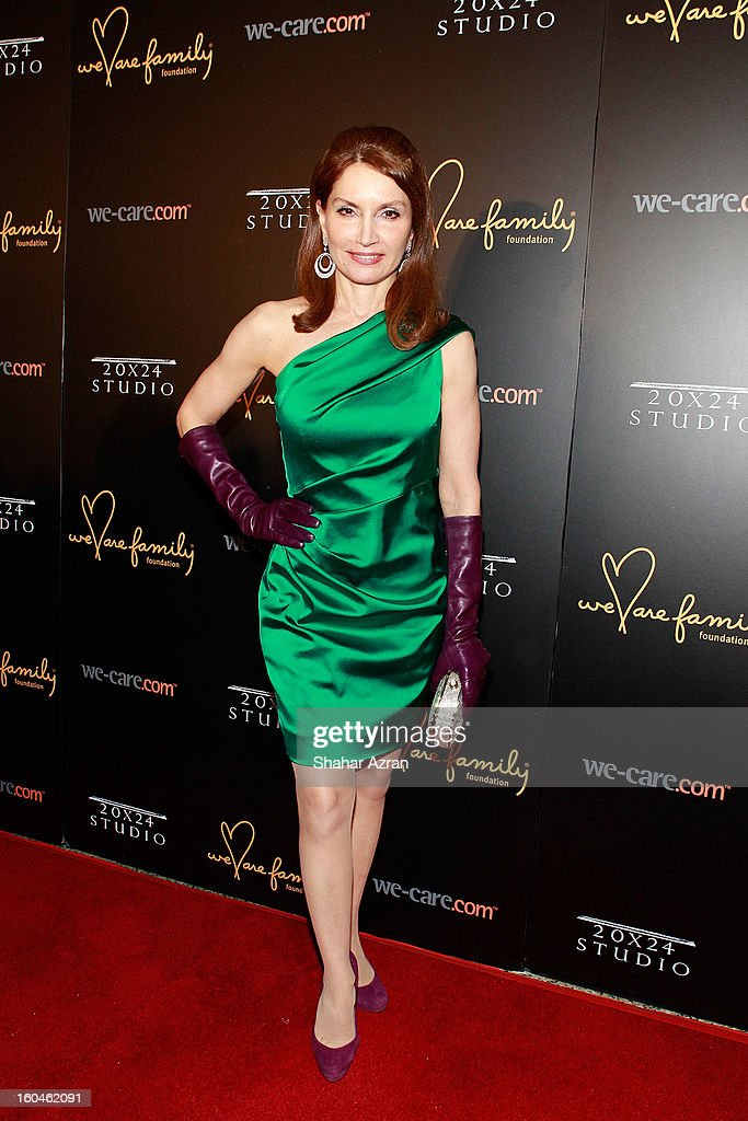Philanthropist Jean Shafiroff attends 2013 We Are Family Foundation Gala at Hammerstein Ballroom on January 31, 2013 in New York City.