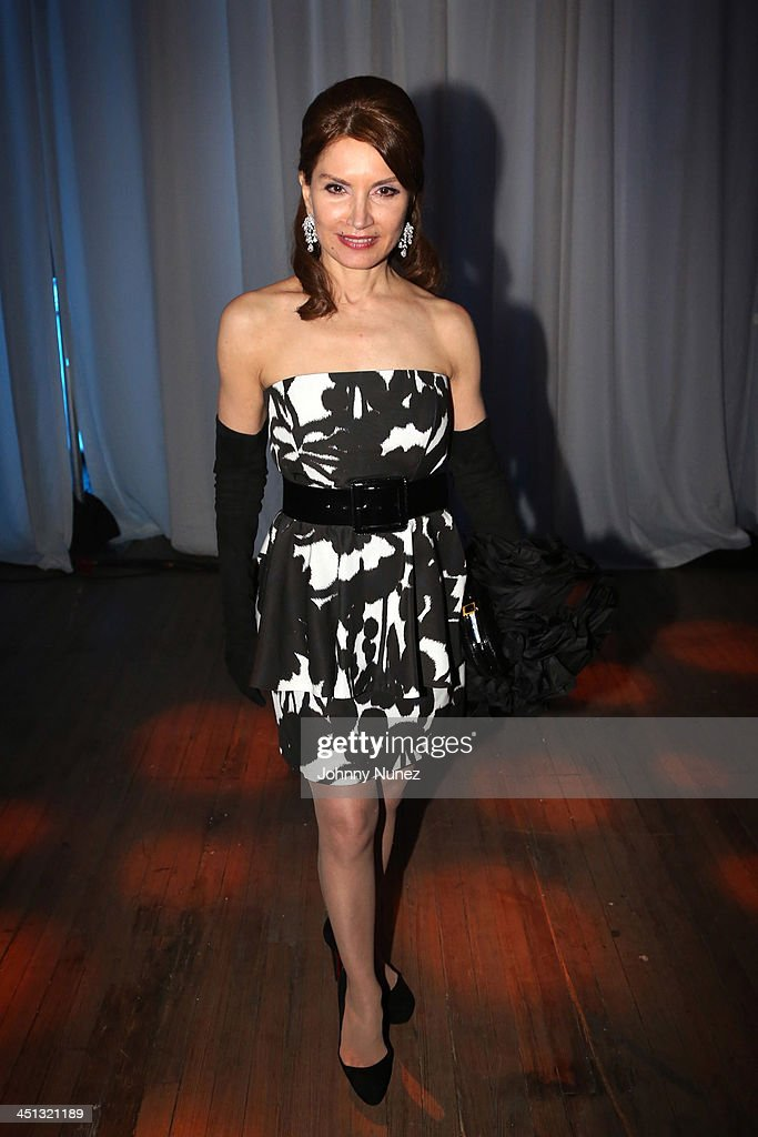 Philanthropist Jean Shafiroff attends the 16th Annual Samuel Waxman Cancer Research Foundation Collaborating For A Cure Benefit Dinner & Auction at Park Avenue Armory on November 21, 2013 in New York City.
