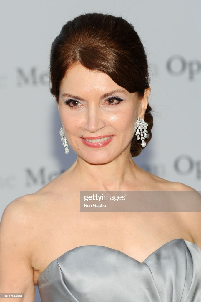 Philanthropist Jean Shafiroff attends the Metropolitan Opera season opening production of 'Eugene Onegin' at The Metropolitan Opera House on September 23, 2013 in New York City.