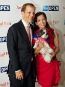 Philanthropist John Ingram and Wendy Diamond attend AnimalFaircom Bark Breakfast Benefiting K9s For Warriors at the Loews Vanderbilt Hotel on July 24...