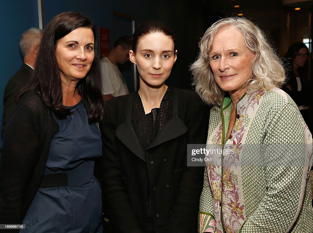 Philanthropist Kathleen <a gi-track='captionPersonalityLinkClicked' href=/galleries/search?phrase=Rooney+Mara&family=editorial&specificpeople=5669181 ng-click='$event.stopPropagation()'>Rooney Mara</a>, actress <a gi-track='captionPersonalityLinkClicked' href=/galleries/search?phrase=Rooney+Mara&family=editorial&specificpeople=5669181 ng-click='$event.stopPropagation()'>Rooney Mara</a> and actress <a gi-track='captionPersonalityLinkClicked' href=/galleries/search?phrase=Glenn+Close&family=editorial&specificpeople=201870 ng-click='$event.stopPropagation()'>Glenn Close</a> attend the Social Innovation Summit May 2013 - Day Two on May 30, 2013 in New York City.