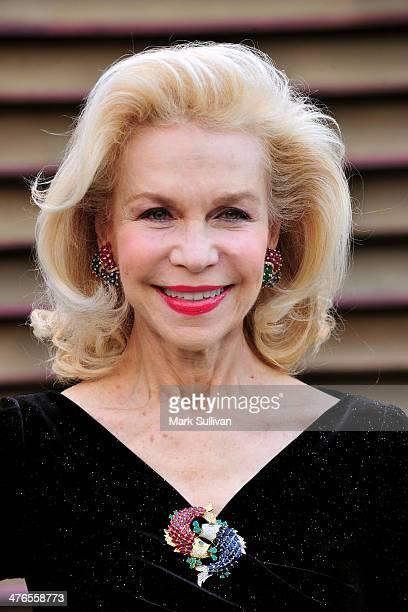 Philanthropist Lynn Wyatt attends the 2014 Vanity Fair Oscar Party hosted by Graydon Carter on March 2 2014 in West Hollywood California