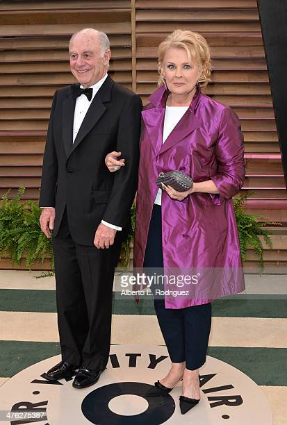 Philanthropist Marshall Rose and actress Candice Bergen attends the 2014 Vanity Fair Oscar Party hosted by Graydon Carter on March 2 2014 in West...