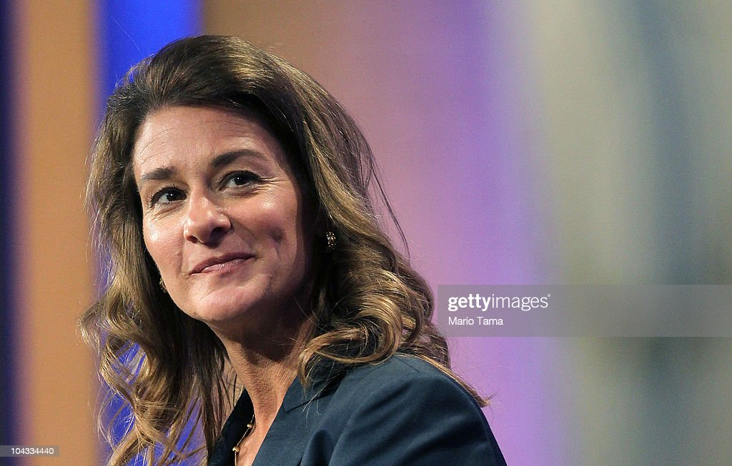Philanthropist Melinda Gates looks on during the annual Clinton Global Initiative September 21 2010 in New York City The sixth annual meeting of the...