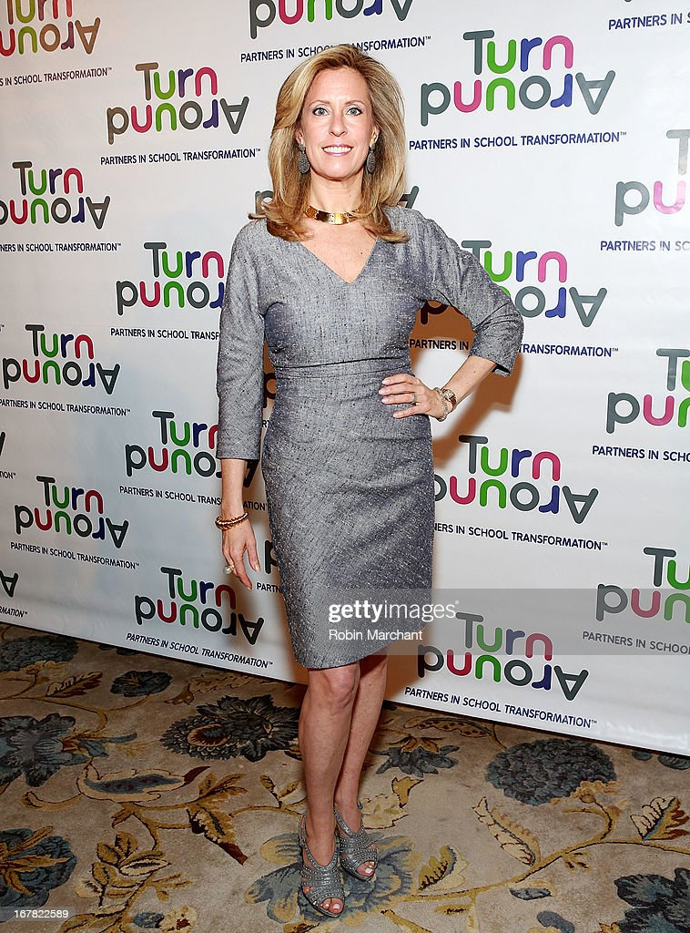 Philanthropist Simone Levinson attends Turnaround for Children 4th Annual Impact Awards Gala at The Plaza Hotel on April 30, 2013 in New York City.