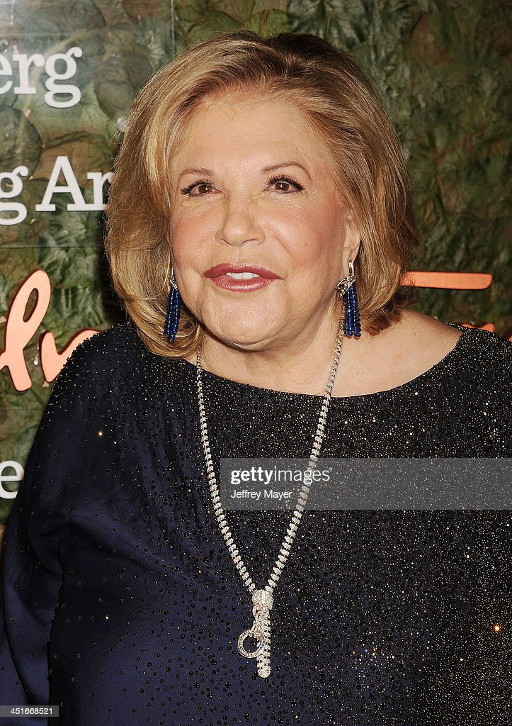 Philanthropist Wallis Annenberg arrives at the Wallis Annenberg Center For The Performing Arts Inaugural Gala at Wallis Annenberg Center for the Performing Arts on October 17, 2013 in Beverly Hills, California.