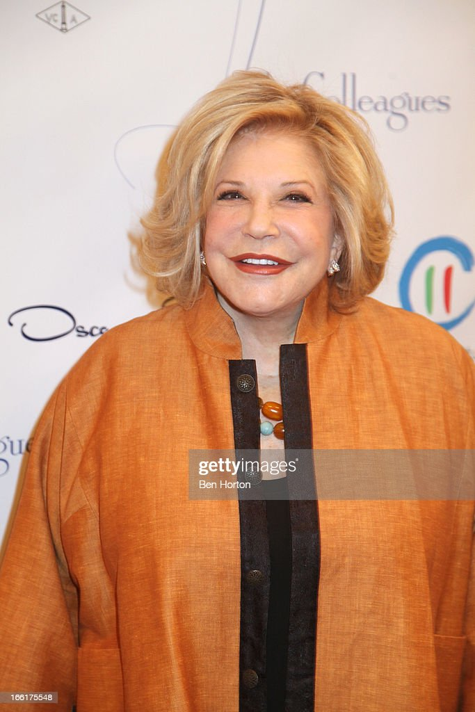 Philanthropist Wallis Annenberg attends The Colleagues 25th annual spring luncheon in her honor at the Beverly Wilshire Four Seasons Hotel on April 9, 2013 in Beverly Hills, California.