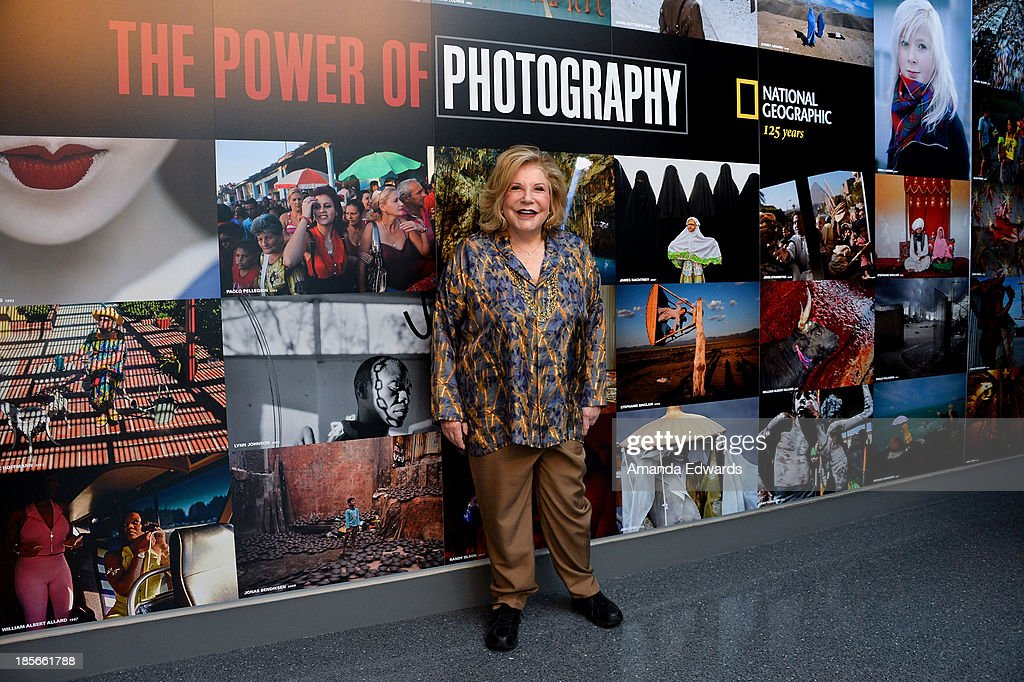 Philanthropist Wallis Annenberg attends the exclusive media preview of 'The Power Of Photography : National Geographic 125 Years' exhibition at the Annenberg Space For Photography on October 23, 2013 in Century City, California.