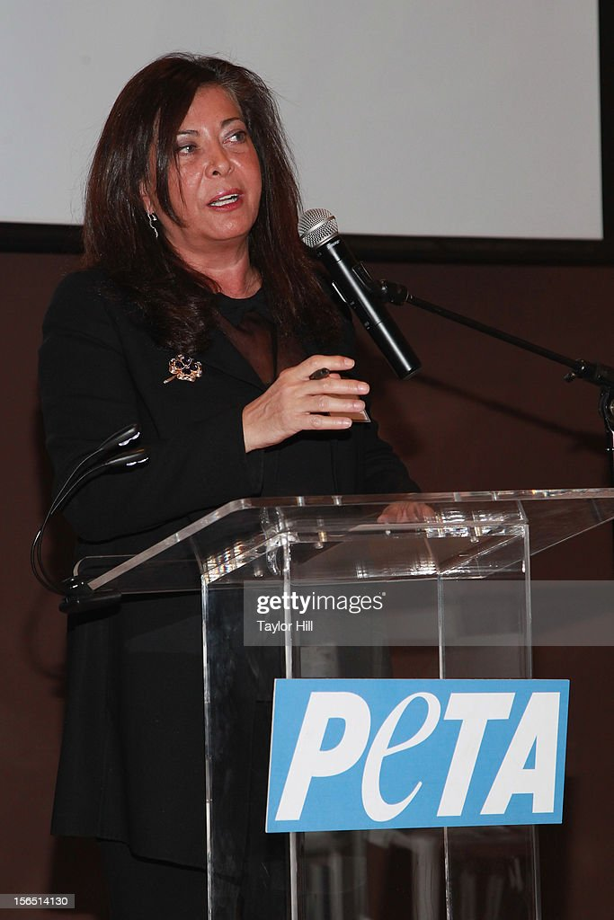 Philanthropist Wendy Kelman Neu attends a PETA Fundraiser at The Standard Hotel on November 15, 2012 in New York City.