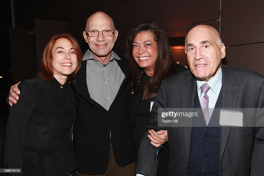 Philanthropists Linda Marcus, Steven Nislick, Wendy Neu, and John Neu attend a PETA Fundraiser at The Standard Hotel on November 15, 2012 in New York City.