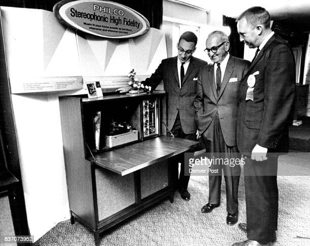 Philco Unveils 1964 Models The Denver Division of Philco Distributors Inc held open house at the Continental Denver Motor Hotel Tuesday and Wednesday...