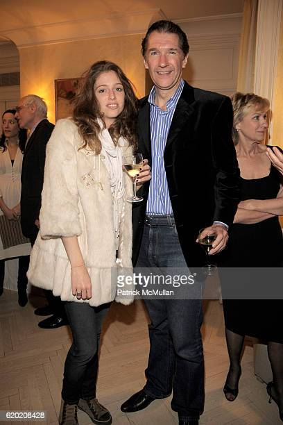 Philibbine Scheidecker and Marc Biron attend TINA BROWN VICKY WARD and LA MER host a party honoring SUSAN NAGEL'S new book 'Marie Therese' at Tina...
