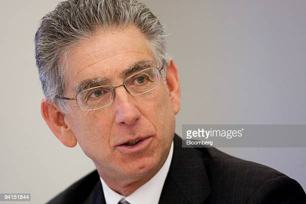 Philip Angelides chairman of the Financial Crisis Inquiry Commission speaks during an interview in Washington DC US on Tuesday Dec 8 2009 The...