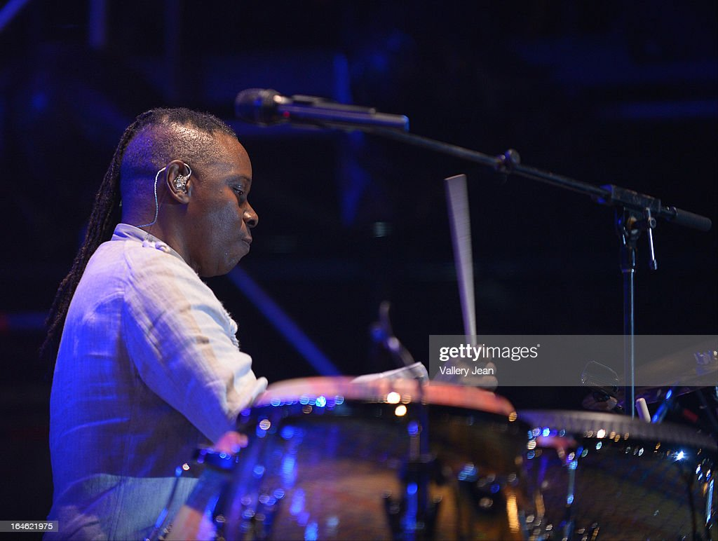 Philip Bailey of Earth, Wind & Fire performs at the 8th Annual Jazz In The Gardens Music Festival - Day 2 at Sun Life Stadium on March 17, 2013 in Miami Gardens, Florida.