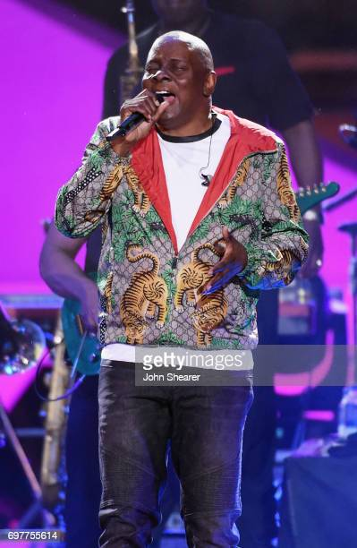 Philip Bailey of Earth Wind Fire performs onstage during CMT Crossroads Earth Wind Fire and Friends on June 6 2017 in Nashville Tennessee