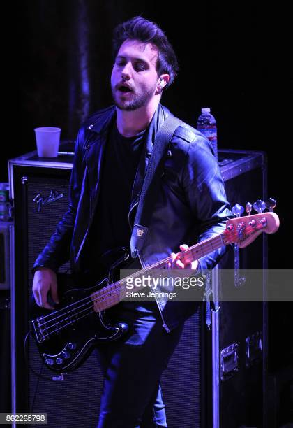 Philip Blake of Nothing But Thieves performs in support of their new album release 'Broken Machine' at Great American Music Hall on October 16 2017...