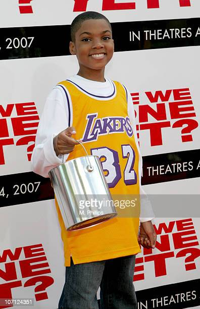 Philip Daniel Bolden during The Premiere of Revolution Studios' and Columbia Pictures' 'Are We Done Yet' Arrivals at Mann Village Theatre in Westwood...