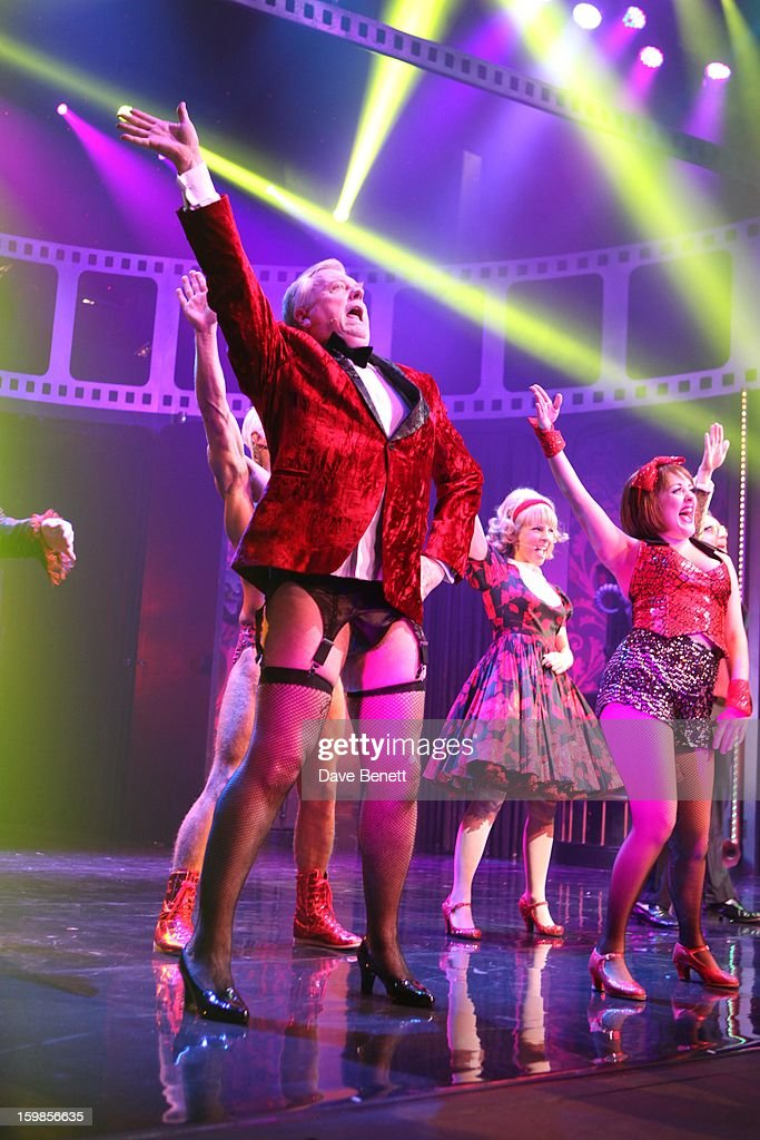 Philip Franks performs on stage during a production of Richard O'Brien's Rocky Horror Show at the New Wimbledon Theatre on January 21st, 2013 in London, United Kingdom.