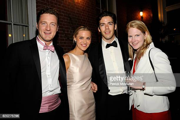 Philip Gaucher Genevieve Bahrenburg William Heath and Alexandra Penot attend CAROLINE ROWLEY Birthday Terez and Peter Rowley Anniversary Dinner and...