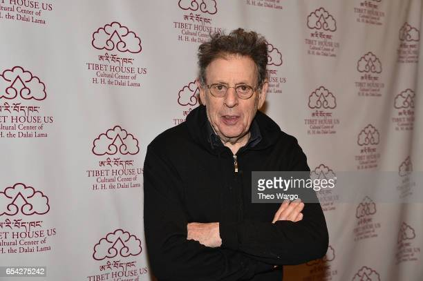 Philip Glass attends the after party for the Tibet House US 30th Anniversary Benefit Concert Gala to celebrate Philip Glass's 80th Birthday at Gotham...
