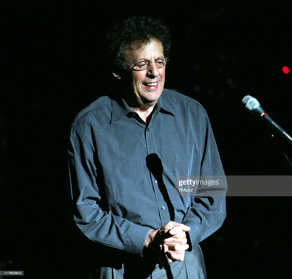 Philip Glass during The ACLU Freedom Concert and After Party at Avery Fisher Hall in New York City, New York, United States.