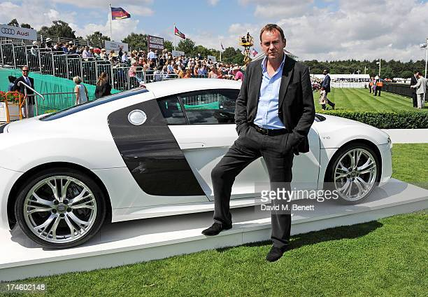 Philip Glenister attends the Audi International Polo at Guards Polo Club on July 28 2013 in Egham England
