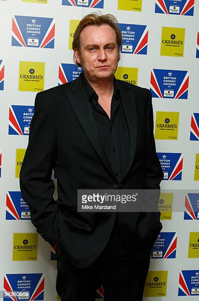 Philip Glenister attends the British Comedy Awards on December 12 2009 in London England