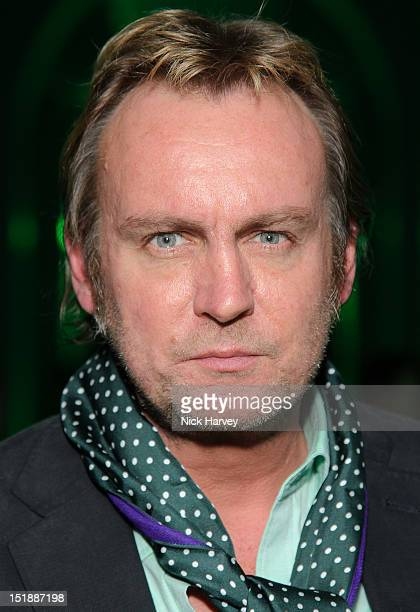 Philip Glenister attends the launch party of 'Ten Green Bottles' a series of limited edition Gordon's Gin bottles at One Marylebone on September 12...