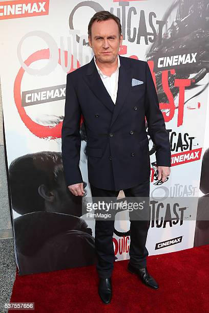 Philip Glenister attends the Los Angeles Premiere for CINEMAX's 'OUTCAST' at Hollywood Forever on June 1 2016 in Hollywood California
