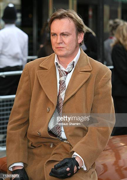 Philip Glenister during 2007 British Academy Television Awards Red Carpet Arrivals at London Palladium in London United Kingdom