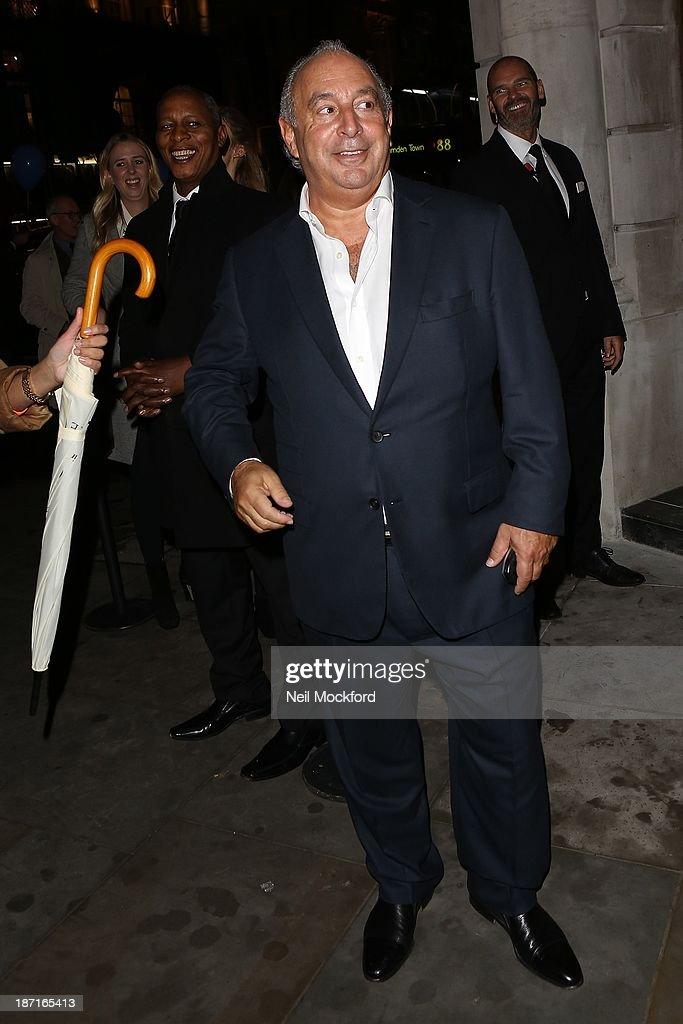 <a gi-track='captionPersonalityLinkClicked' href=/galleries/search?phrase=Philip+Green+-+British+Businessman&family=editorial&specificpeople=220418 ng-click='$event.stopPropagation()'>Philip Green</a> at the UK flagship store launch of J. Crew on November 6, 2013 in London, England.