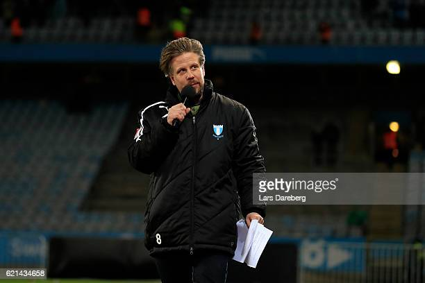 Philip Hammatr during the Allsvenskan match between Malmo FF and Hammarby IF at Swedbank Stadion on November 6 2016 in Malmo Sweden
