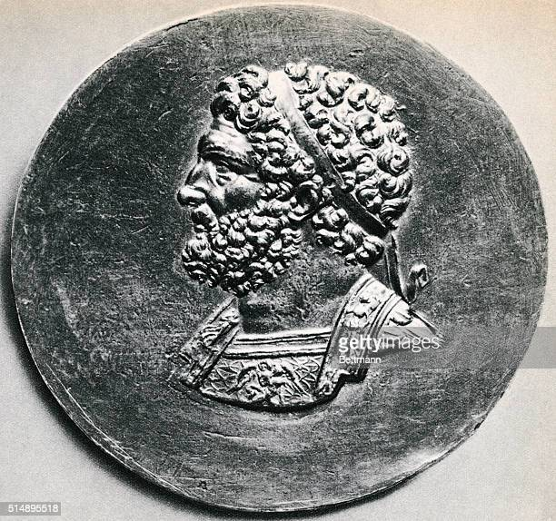 from an ancient silver coin