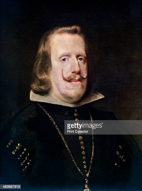 'Philip IV of Spain' c1656 Philip IV ruled Spain from 1621 and Portugal from 1640 A colour print from Famous Paintings with an introduction by...