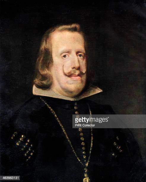 'Philip IV of Spain' c1656 Portrait of King Philip IV From the collection of the National Gallery LondonIllustration from the Apollo Volume XVIII no...