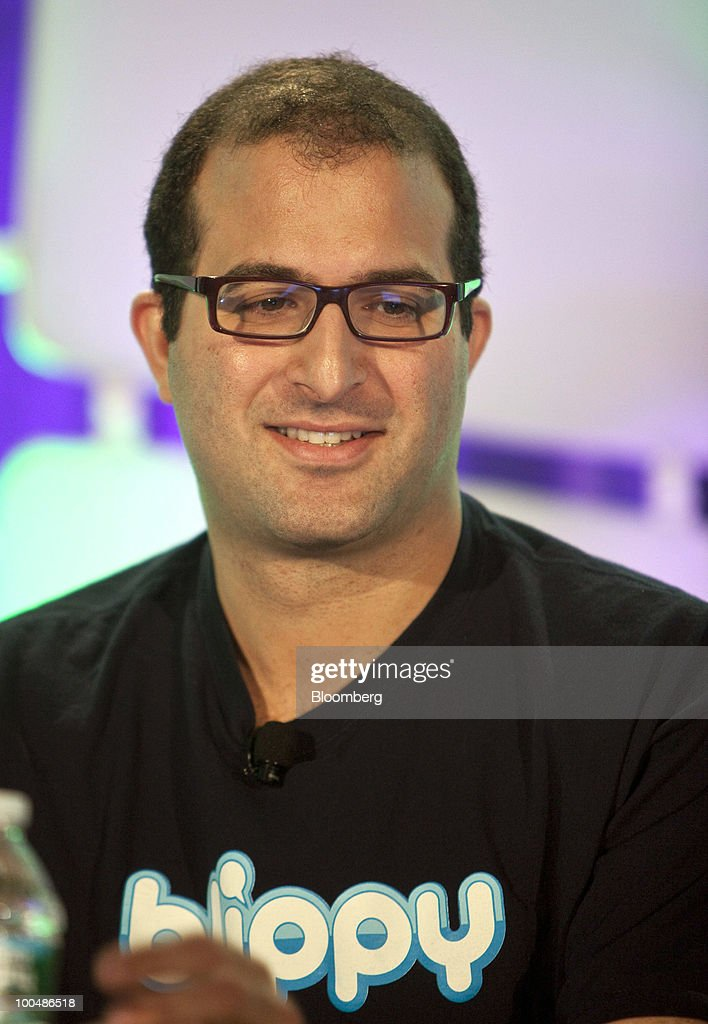 Philip Kaplan, co-founder of Blippy, listens to speakers during a panel discussion at the TechCrunch Disrupt conference in New York, U.S., on Monday, May 24, 2010. The conference, a gathering of web innovators and media and technology executives, runs until May 26. Photographer: Ramin Talaie/Bloomberg via Getty Images