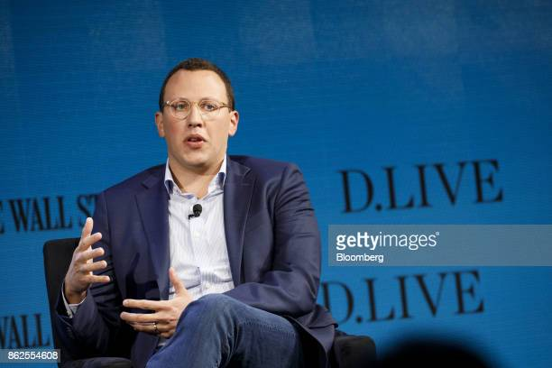 Philip Krim chief executive officer of Casper speaks during the Wall Street Journal DLive global technology conference in Laguna Beach California US...