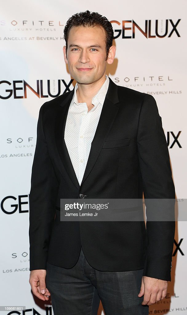 Philip Martin attends the Genlux Cover Girl Kristin Chenoweth Celebrates Opening of new bar Riviera 31 at The Sofitel L.A. on January 15, 2013 in Beverly Hills, California.