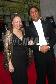 Philip Michael Thomas And Wife Arriving At The Nbc 75th