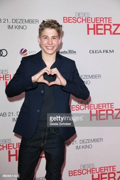 Philip Noah Schwarz during the 'Dieses bescheuerte Herz' premiere at Mathaeser Filmpalast on December 11 2017 in Munich Germany