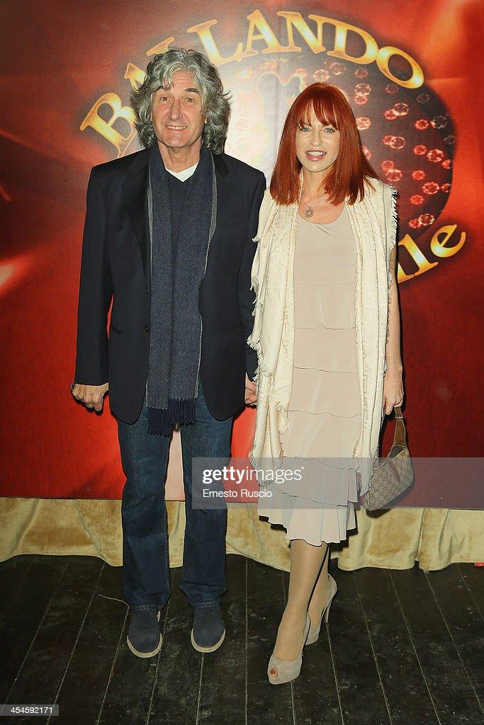 Philip Palmer and guest attend the 'Ballando con le stelle' 100th Episode Party at La Villa on December 9, 2013 in Rome, Italy.