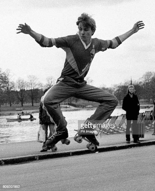Philip Scotford long distance rollerskater who plans to roller skate from John O'Groats to Land's End