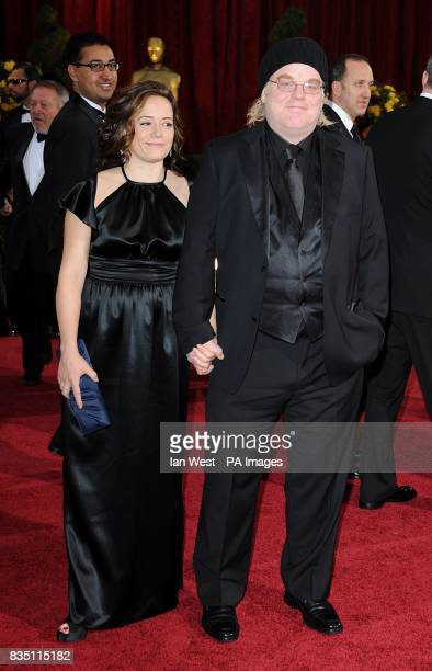 Philip Seymour Hoffman and Mimi O'Donnell arriving for the 81st Academy Awards at the Kodak Theatre Los Angeles