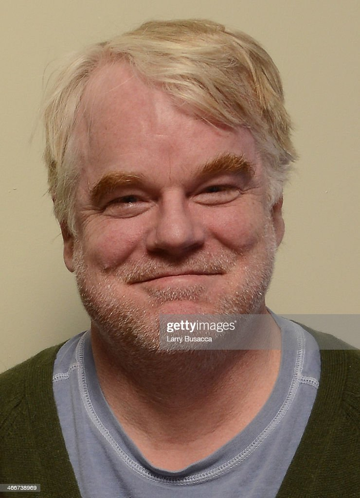 Philip Seymour Hoffman poses for a portrait during the 2014 Sundance Film Festival at the Getty Images Portrait Studio at the Village At The Lift on...