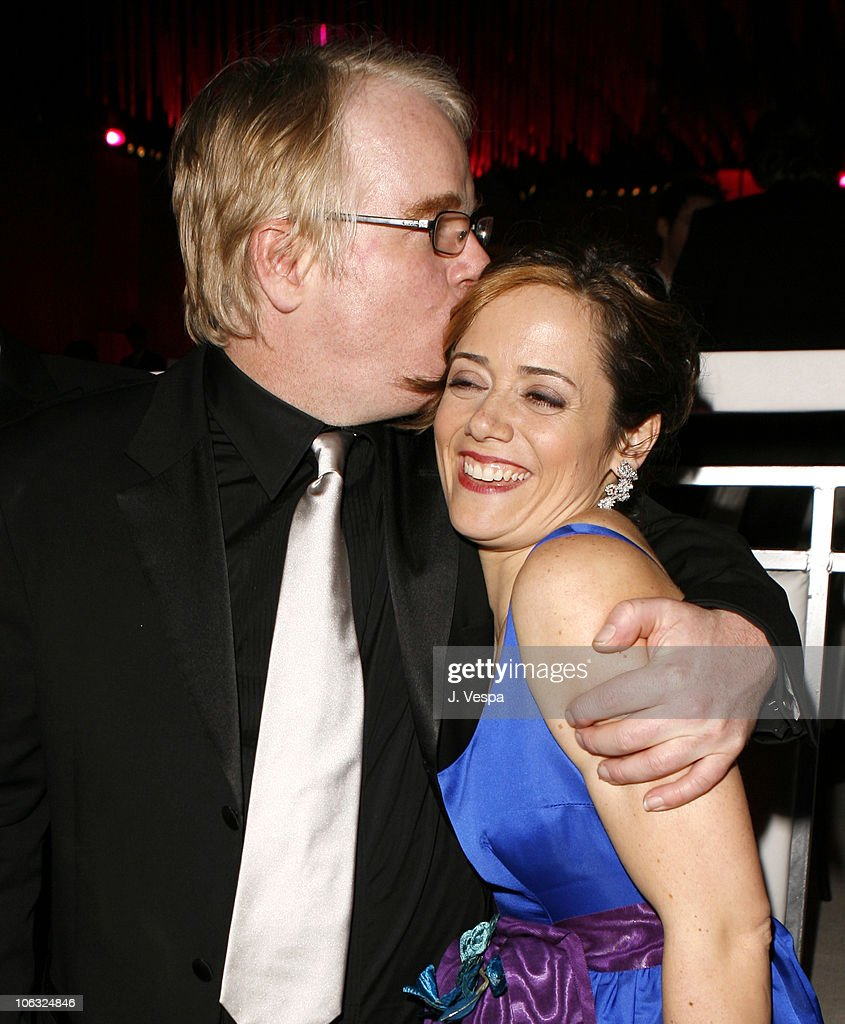 Philip Seymour Hoffman winner Best Actor in a Leading Role for 'Capote' and Mimi O'Donnell