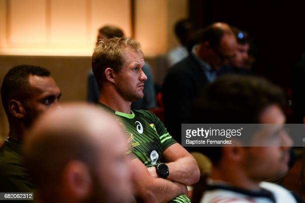 Philip Snyman of South Africa during Captains photocall and press conference prior to the Hsbc Paris Rugby Sevens on May 11 2017 in Paris France