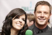 Philip Sweet Karen Fairchild and and Jimi Westbrook of Little Big Town attend the 42nd Annual CMA Awards at the Sommet Center on November 12 2008 in...