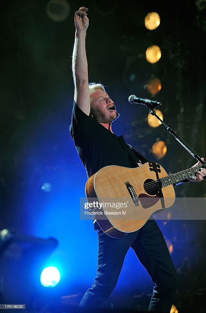 Philip Sweet of Little Big Town performs at LP Field during the 2013 CMA Music Festival on June 7, 2013 in Nashville, Tennessee.