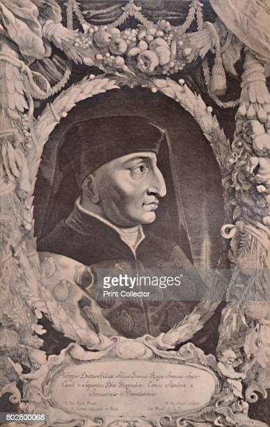 Philip the Bold Duke of Burgundy 17th century From A Collection of Engraved Portraits Exhibited by the Late James Anderson Rose at the Opening of the...