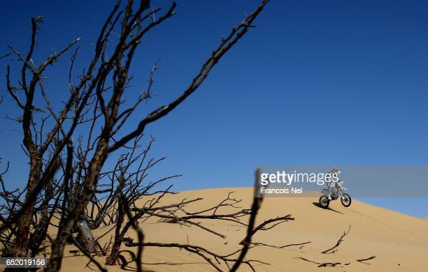 Philip Van Der Walt of South Africa in action during day two of the Dubai International Baja on March 11 2017 in Dubai United Arab Emirates